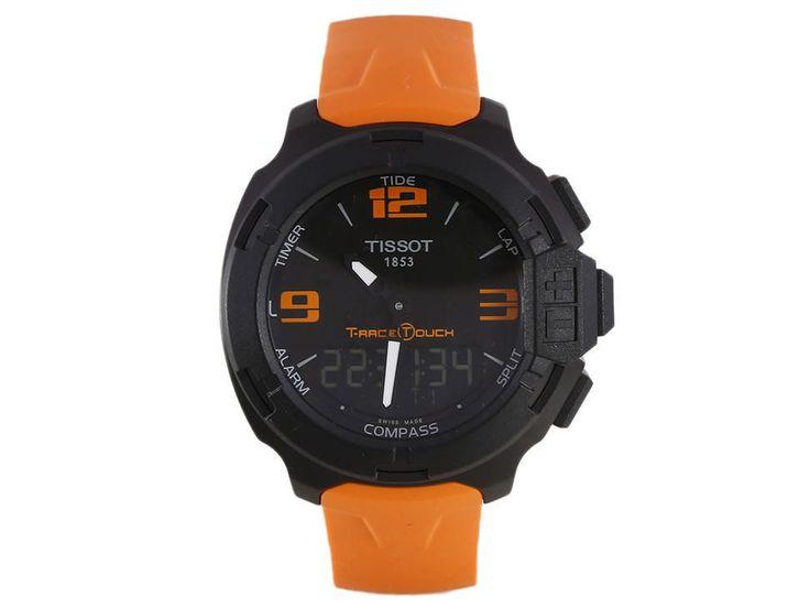 Tissot T-Race Touch T0814209705702 Reloj para Caballero Color Naranja
