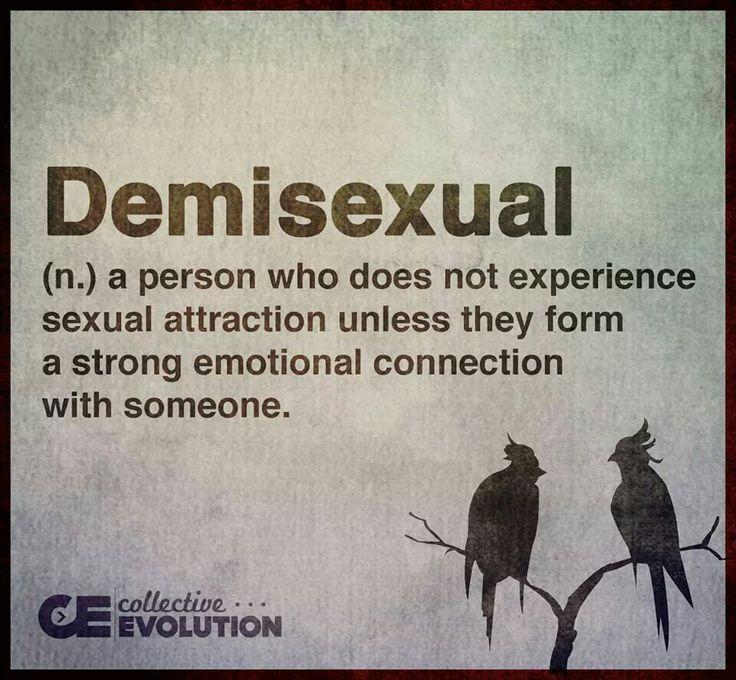 infj demisexual