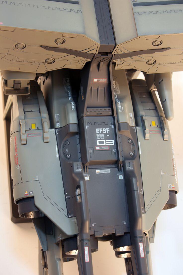 HGUC 1/144 RX-78GP03 GundamGP03 Dentrobium   Modeled by RedBrick         CLICK HERE TO VIEW FULL POST...
