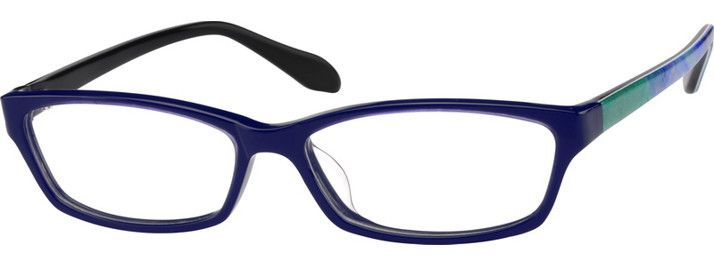 4864 Acetate Full-Rim Frame-W92wPns1  The blue really brings attention to your eyes. I haven't bought blue glasses yet though. ;x