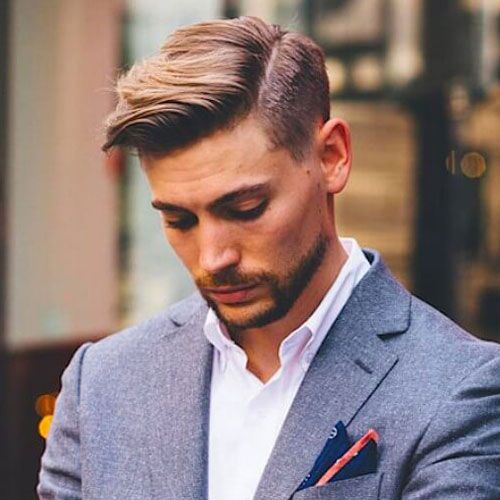 Men's Side Parted Hairstyles