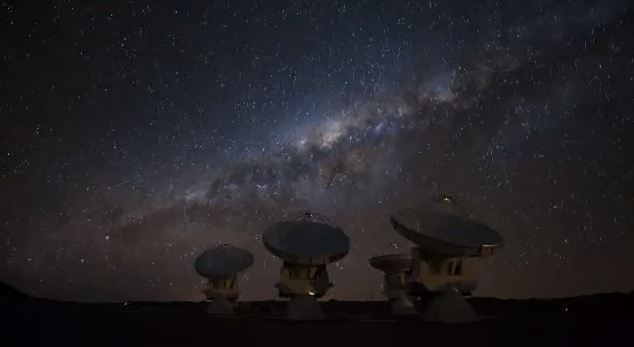 Milky Way Galaxy from Chile