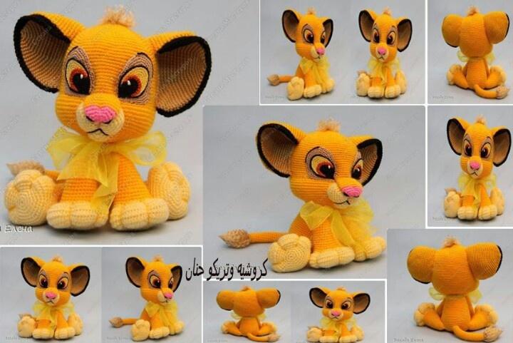Lion King Amigurumi : 17 best images about lion king on Pinterest Disney lion ...