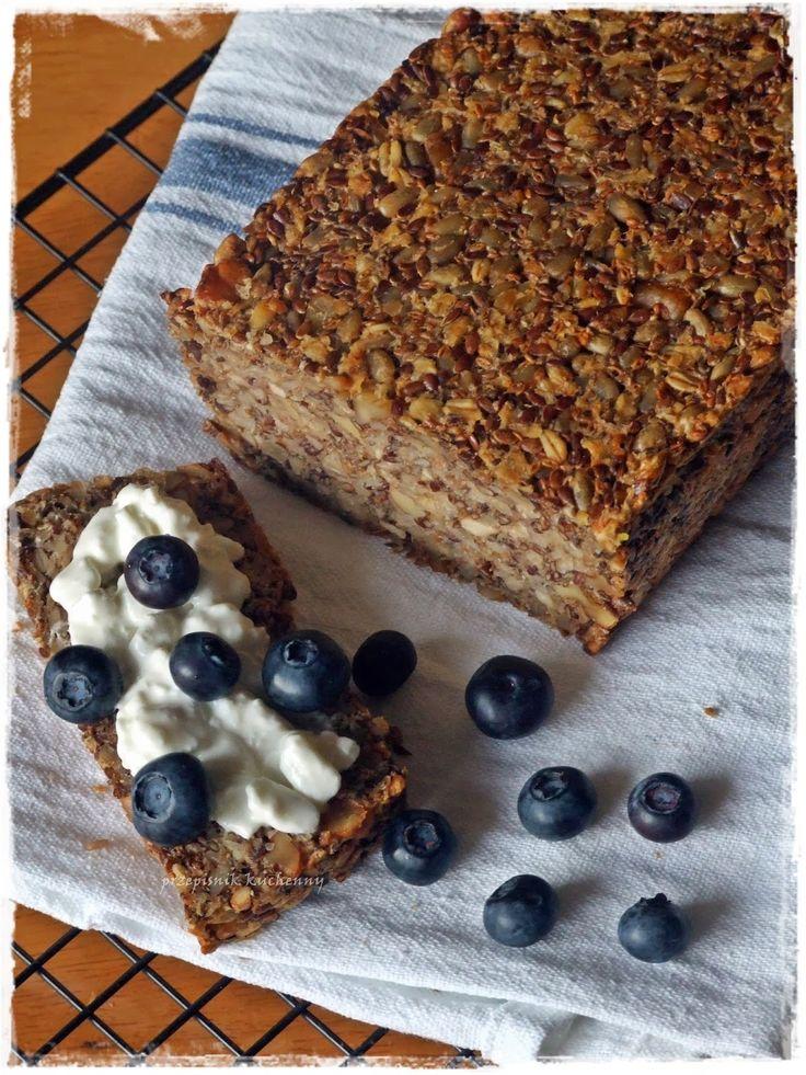 """Przepiśnik kuchenny: Chleb bez jajek, mąki i drożdży. """"Live - changing bread"""""""