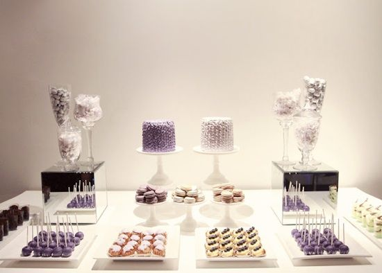 Delectable And Stylish Dessert Table Ideas