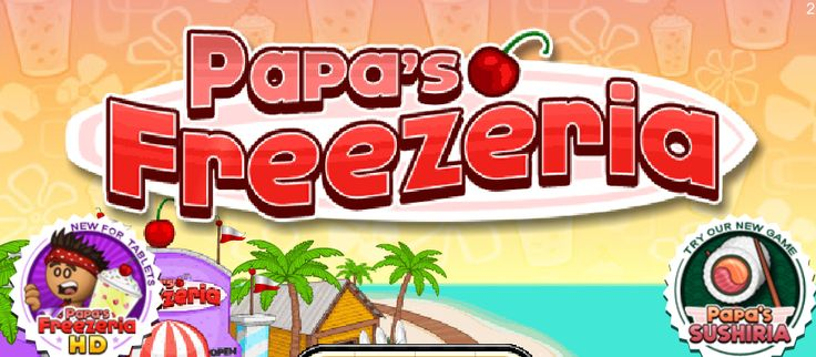 Papa's Freezeria - Fire Storm Game - Play Game Online Free