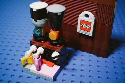레고 커피 타임