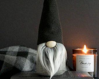 Lutin scandinave, Tomte suédois, Gnome nordique, décoration nordique, Noël moderne