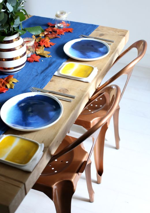 Marimekko watercolor plates....weather diary collection