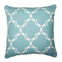 Nice cushion - duck egg blue