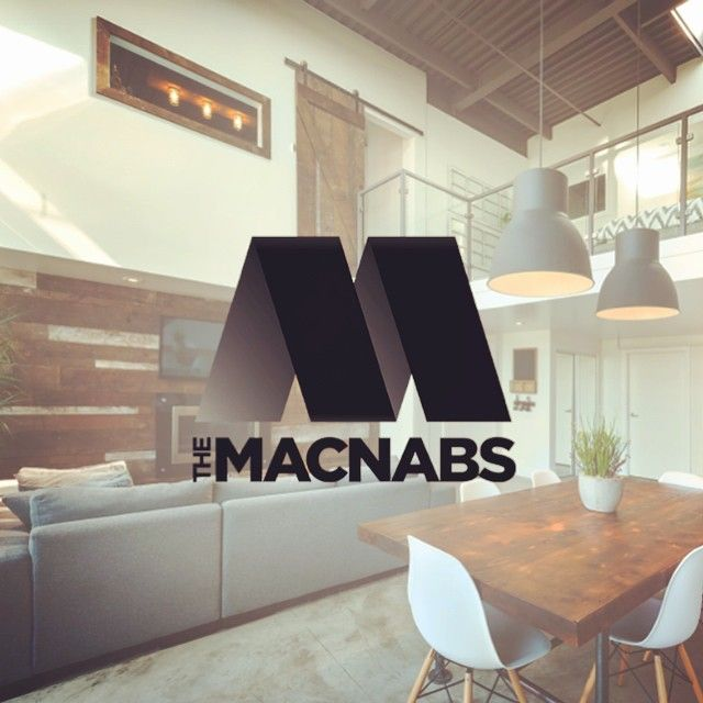 Brand identity for The Macnabs Vancouver real estate agents by Loki Creative.