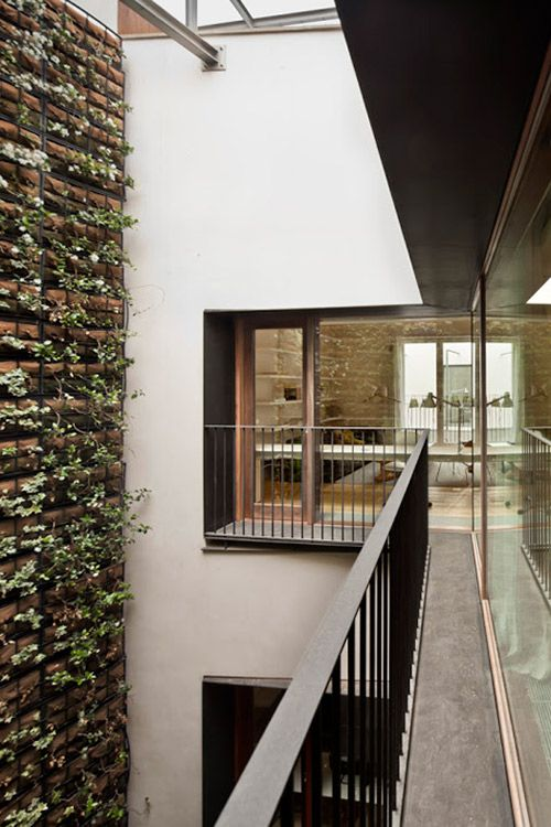 An adaptive reuse project inBarcelona