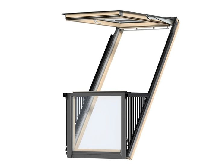 Roof windows/window railings CABRIO™ by VELUX