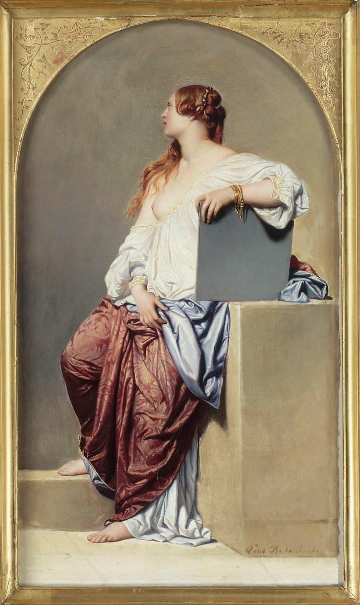 Hippolyte dit Paul Delaroche, Renaissance Allegory