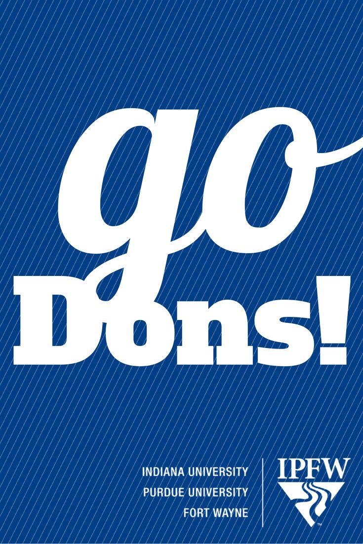 #goDons! #IPFW