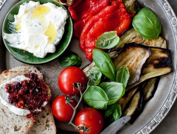 Les 20 meilleures id es de la cat gorie plateau d 39 antipasti sur pinterest plateau antipasti - Antipasti legumes grilles ...