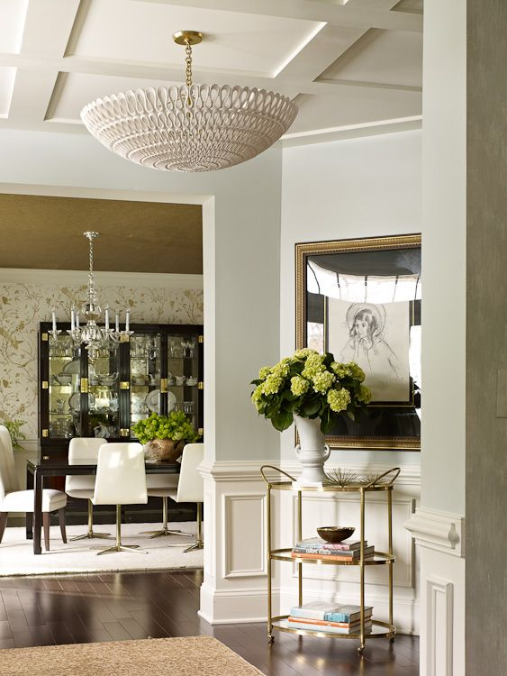 7 Family Friendly Interiors By Lauren Liess Transitional Dining RoomsEclectic