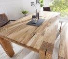 Masivní jídelní stůl - James, velký
