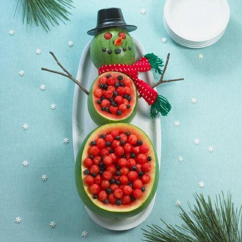 Christmas Fruit and Vegetable Platter Ideas