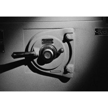Security safe door Canvas Art - (24 x 36)