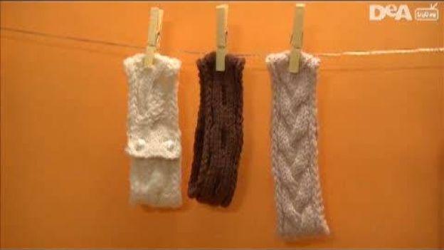 Fascia a treccia per capelli fai da te - Consigli pratici.  Segui i nostri consigli pratici e impara a lavorare a maglia, realizzando da sola una fascia a treccia per capelli. Crea accessori moda in modo semplice e rapido.