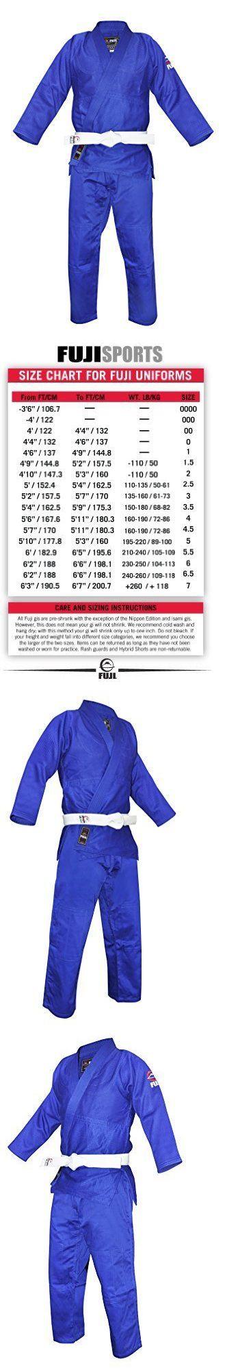 Jackets 179771: Fuji Single Weave Judo Gi Blue 4 Mens Martial Arts Uniform Jacket, New -> BUY IT NOW ONLY: $73.15 on eBay!