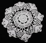 "8"" crocheted doily  $1.49  Lots of other doililes, too: Doilies 1 49, Lace Doilies, Doilies 149, Crochet Doilies"