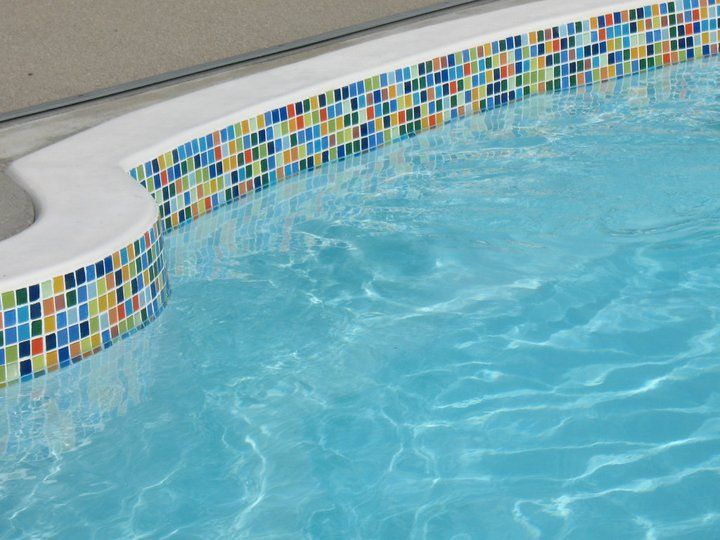 Pool Waterline Tile Ideas pools using glass tiles the different types of pool tiles before installing Find This Pin And More On Susan Jablon Pools Spas Outdoor Mosaic Tile Ideas