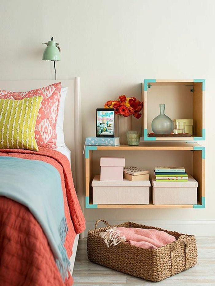 Lu tagre cube praticit et style archzinefr cube muraltable for Rangement mural chambre bebe