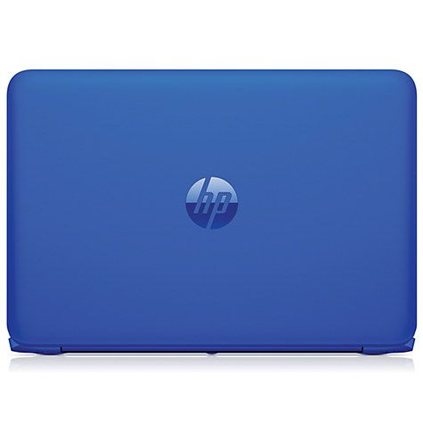"Buy HP Stream 13-c100na Laptop, Intel Celeron, 2GB RAM, 32GB eMMC, 13.3"", Cobalt Blue Online at johnlewis.com"