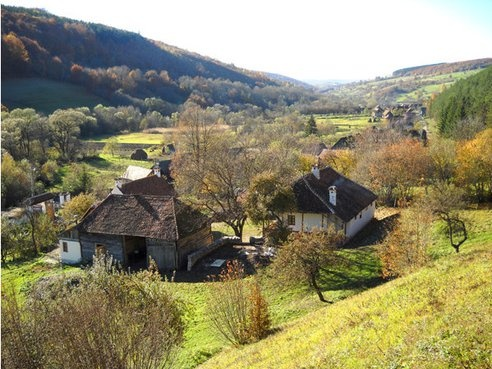 Romanian village #romania #homestead