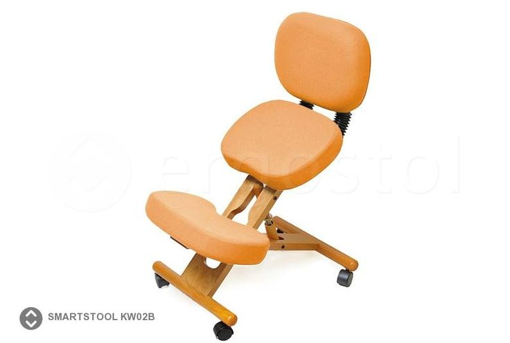 Коленный стул Smartstool KW02B со спинкой