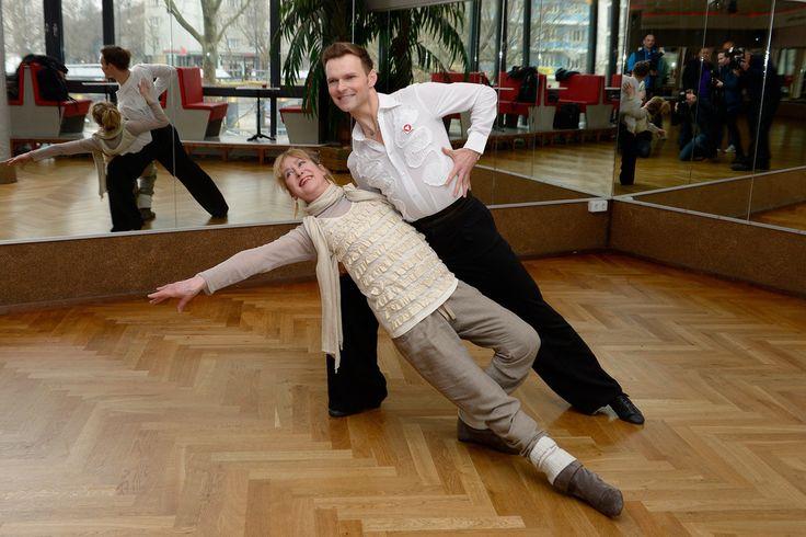 Vadim Garbuzov Photos: Beatrice Richter Trains for 'Let's Dance'