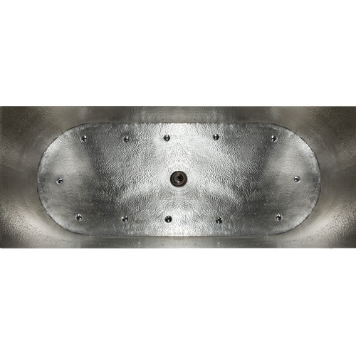 Best Photos 48 Raksha Brushed Stainless Steel Oval Japanese 400 x 300