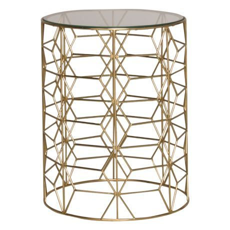 GRACE 40cm round side table