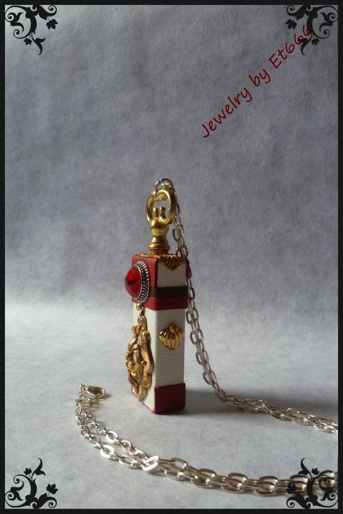 Bijoux créateurs cuir métal pendentif . Elizabeth  etsy.com/shop/LamaisonEt666