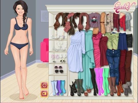 Selena Gomez Makeup & Dressup Video For Her Upcoming Album