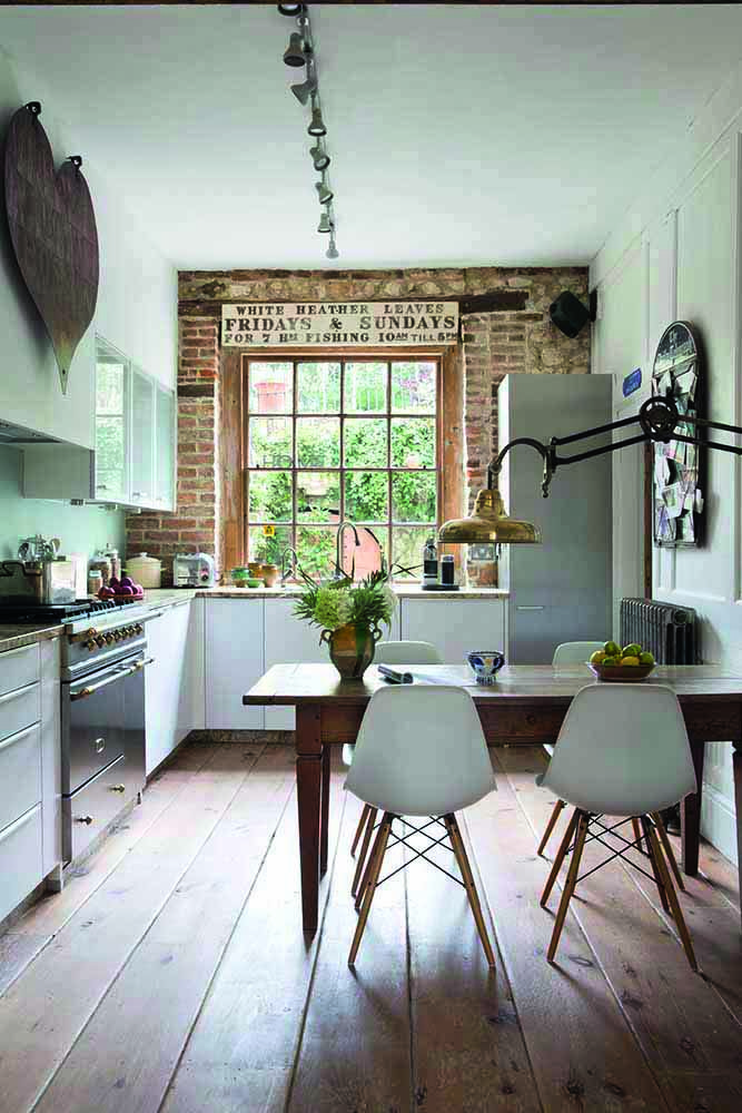 Spencer and Freya Swaffer's kitchen.
