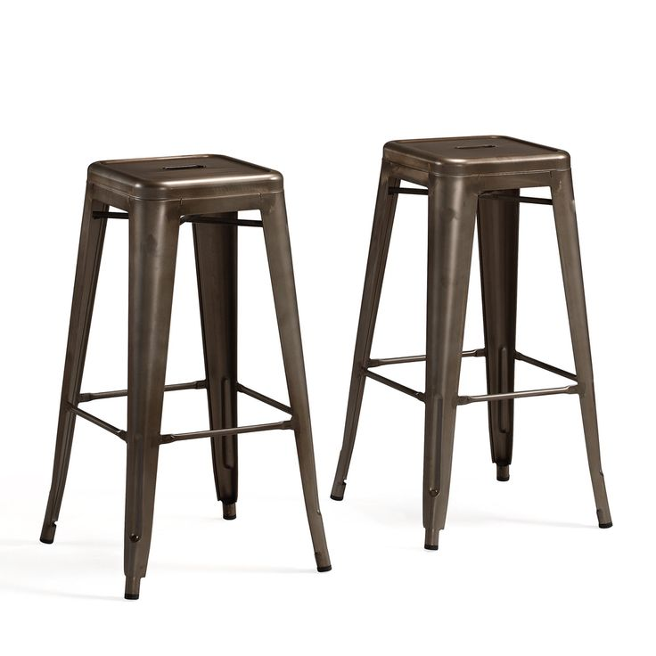tabouret 30 inch vintage and gunmetal bar stools set of 2 shopping vintage and the o 39 jays. Black Bedroom Furniture Sets. Home Design Ideas