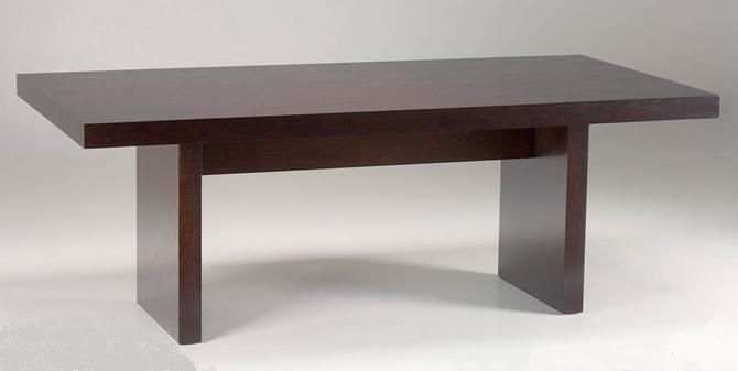 a modern elegant style of dinning room table