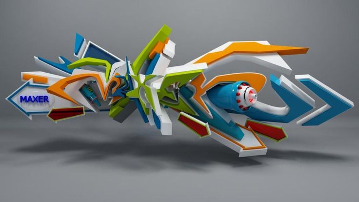 45 Most Awesome Works of 3D Graffiti Art  – Daim