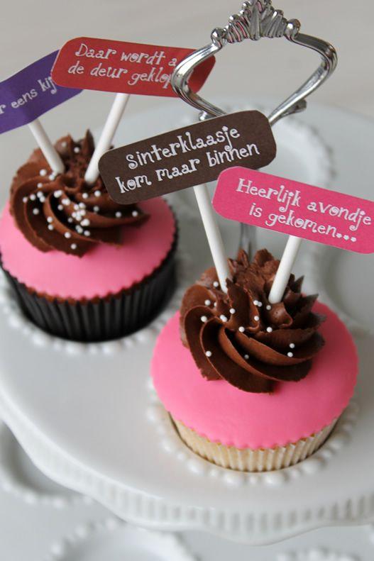 Sinterklaas cupcakes maken | Cupcakerecepten.nl