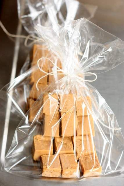 Salted Caramel Fudge - looks easy to make and would make a fun gift!