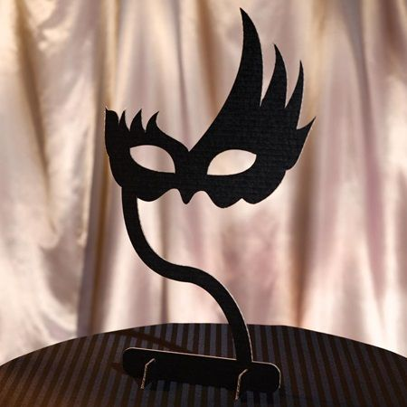 Our Masquerade Mask Centerpiece Is The Perfect Way To Decorate Tables For Prom Winter Formal Or Other School Events