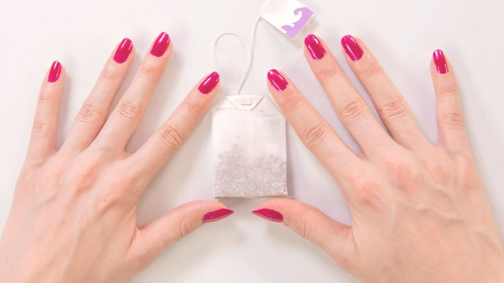 Weekend Beauty Hack: How to Fix a Broken Nail With a Tea Bag | Beauty High