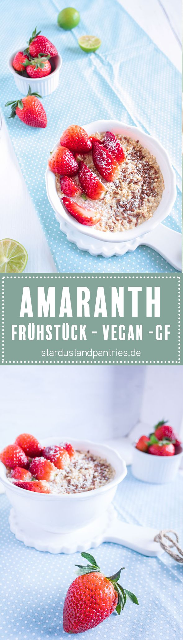 Veganes Frühstück I Amaranth. Entdeckt von Vegalife Rocks: www.vegaliferocks.de ✨ I Fleischlos glücklich, fit & Gesund✨ I Follow me for more vegan inspiration @vegaliferocks