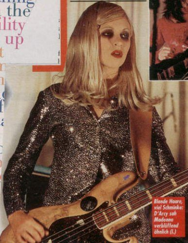 90s girl grunge D'arcy Wretzky of Smashing Pumpkins