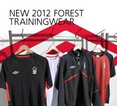 New 2012 Forest trainingwear