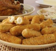 Recette - Croquettes de poulet au fromage - Proposée par 750 grammes
