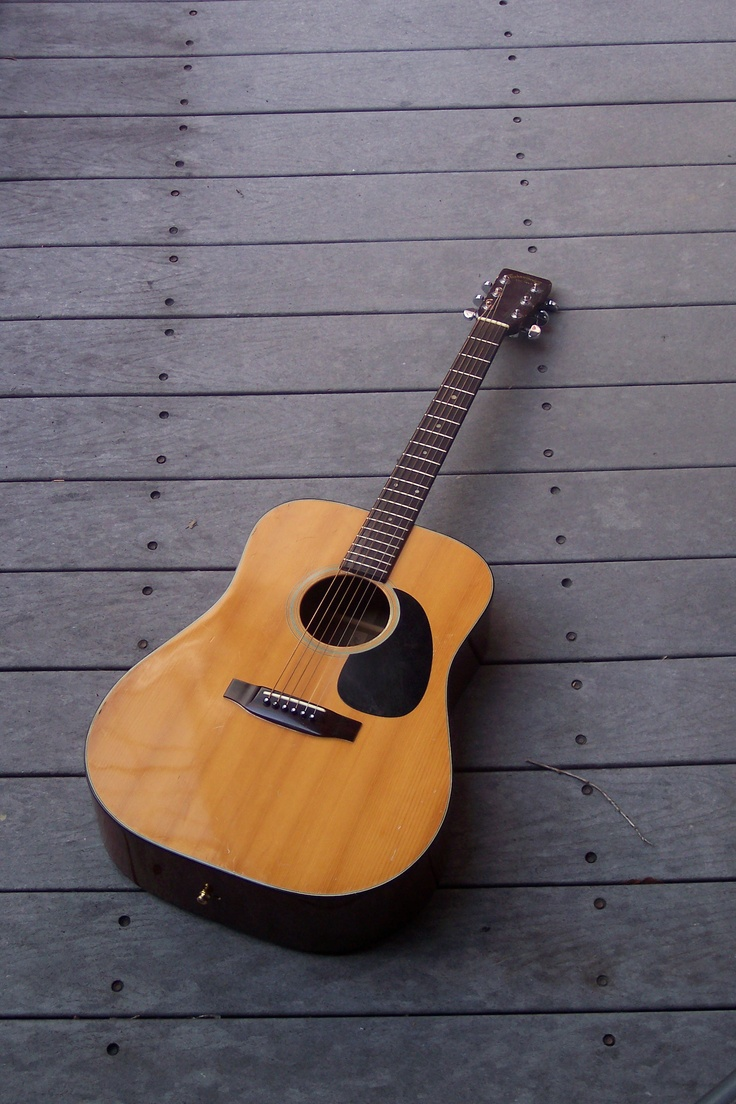 Yes, I do want to own a second-handed guitar :) love old stuff, love the spirit in it